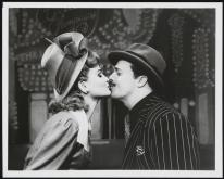 Faith Prince as Miss Adelaide and Nathan Lane as Nathan Detroit in Guys and Dolls 1992