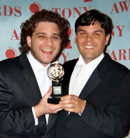 Jeff Marx and Bobby Lopez Tony Award