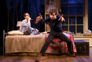 David Potters and Timothée Chalamet as roommates in Prodigal Son
