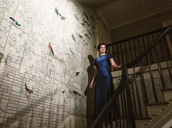 Phoebe Dunn as Helene Alving.