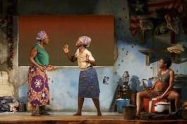 Saycon Sengbloh, Lupita Nyong'o, and Pascale Armand