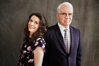Bright Star creators Edie Brickell and Steve Martin