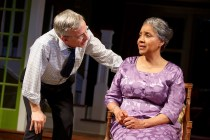 Robert Joy as Dr. Anderson and Phylicia Rashad as Shelah in Head of Passes by Tarell Alvin McCraney