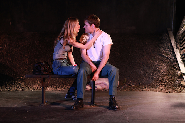 Marin Ireland and Josiah Bania in Ironbound. photo by Sandra Coudert (2)