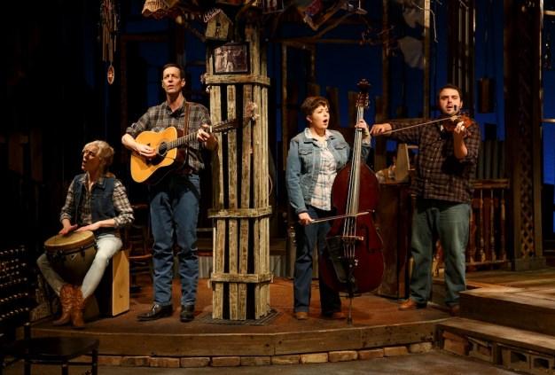 Southern Comfort band members Elizabeth Ward Land, David Lutken, Lizzie Hagstedt, Joel Waggoner
