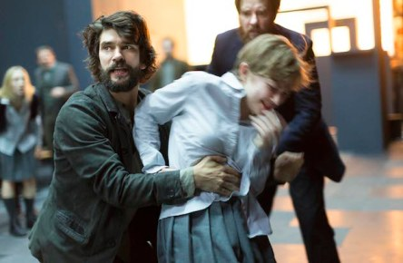 Ben Whishaw and Tavi Gevinson, with Jason Butler Harner