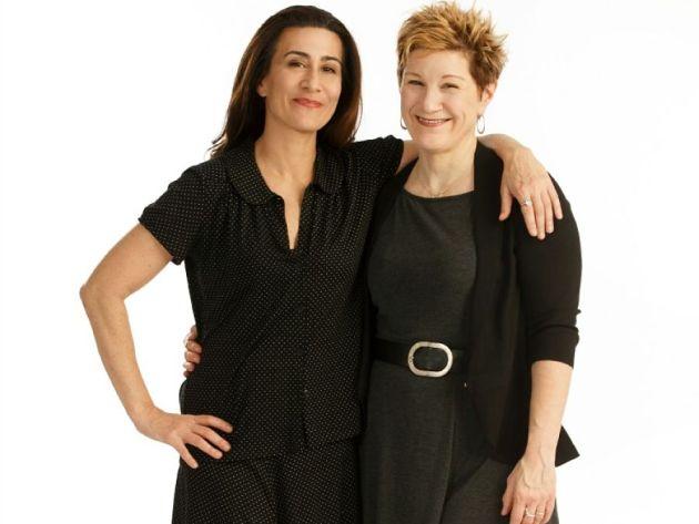 Jeanine Tesori and Lisa Kron, of Fun Home