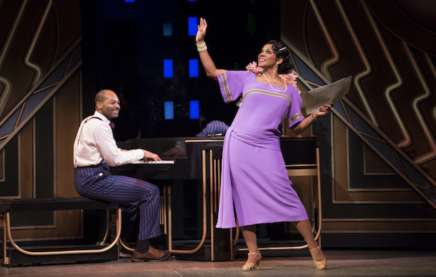 Brandon Victor Dixon and Audra McDonald in Shuffle Along, or The Making of the Musical Sensation of 1921 and All That Followed, © Julieta Cervantes