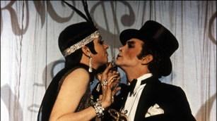 With Liza Minnelli in the movie