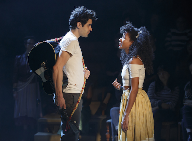 Damon Daunno and Nabiyah be as Orpheus and Eurydice