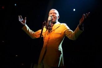 Vondie Curtis Hal as Papa Joe Roy in The Total Bent,