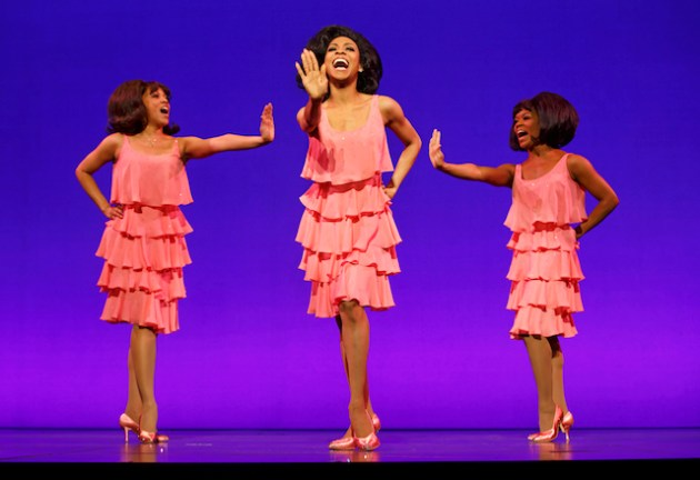 krisha Marcano, Allison Semmes, Trisha Jeffrey as the Supremes