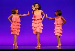 krisha Marcano, Allison Semmes, Trisha Jeffrey as the Supremes