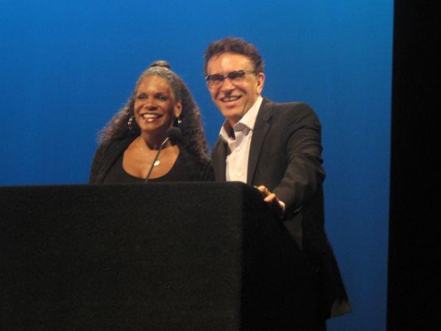 Audra McDonald and Brian Stokes Mitchell