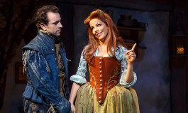 Rob McClure and Leslie Kritzer