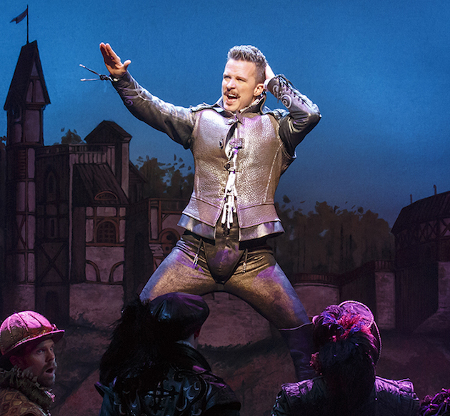 Will Chase as William Shakespeare