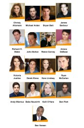 Celebrities at the Autograph Table (and Photo Booth) 2 p.m. to 2:50 p.m.
