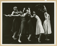 "Production shot from the Broadway show "" For Colored Girls Who Have Considered Suicide When the Rainbow Is Enuf,"" 1975"