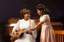 Kecia Lewis as Sister Rosetta Tharpe and Rebecca Naomi Jones as Marie Knight