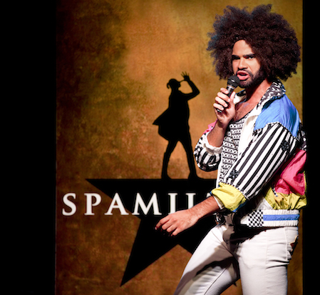 Nicholas Edwards as Daveed Diggs/Thomas Jefferson in Spamilton