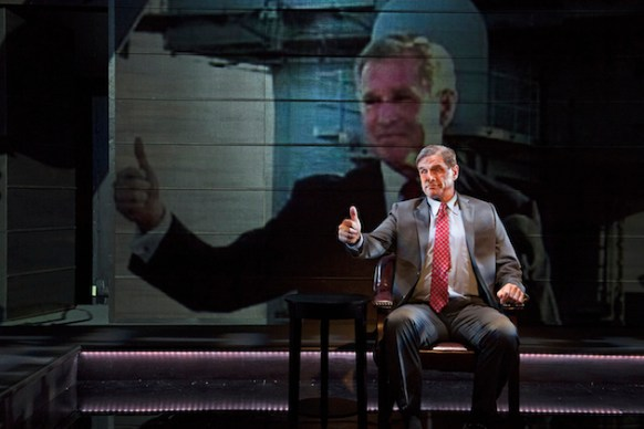 """In """"The Trial of an American President,"""" a 2016 play, George W. Bush defended himself before the International Criminal Court."""