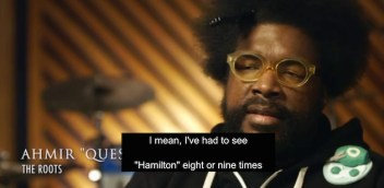 "Ahmir ""Questlove"" Thompson of The Roots"