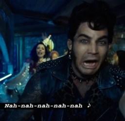 """Adam Lambert (Eddie) in """"Hot Patootie"""""""