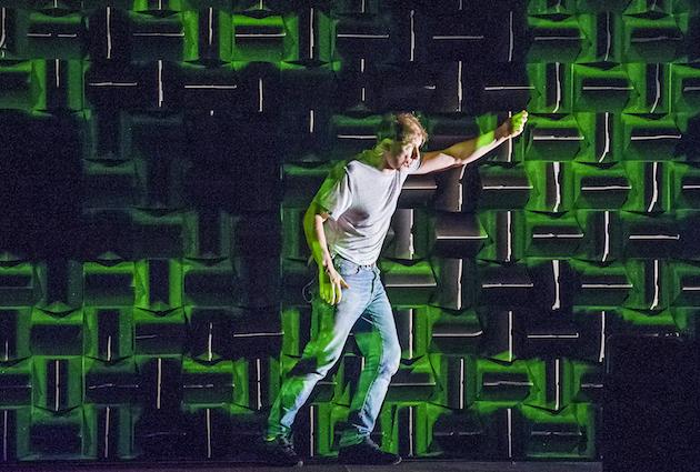 Simon McBurney in The Encounter