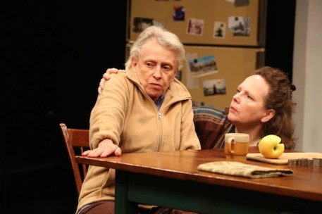 Roberta Maxwell and Maryann Plunkett in Women of a Certain Age, Play Three of The Gabriels: Election Year in the Life of One Family