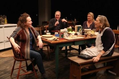 Maryann Plunkett, Jay O. Sanders, Lynn Hawley, and Meg Gibson