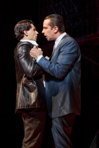 Bobby Conte Thornton as Calogero and Nick Cordero as Sonny