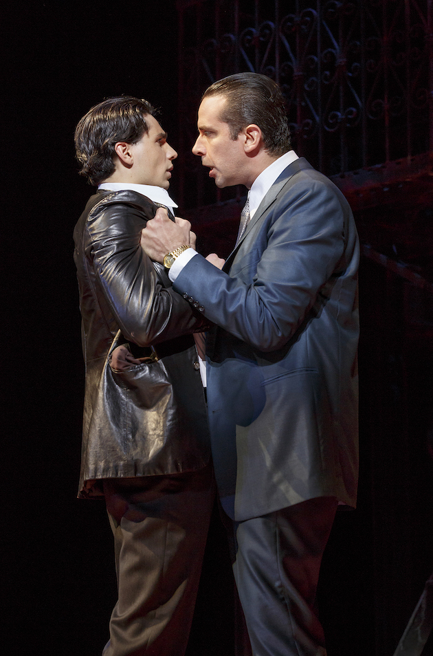 A Bronx Tale The Musical Pre-opening information; subject to change A Bronx Tale The Musical View More Images Longacre Theatre, (12/01/2016 - ) First Preview: Nov 03, 2016 Total Previews: Opening Date: Dec 01, 2016 Closing Date: Total Performances: Category: Musical, Drama, Original, Broadway A Bronx Tale The Musical tickets Official Website Opening Night Credits Production Staff Theatre Owned / Operated by The Shubert Organization (Philip J. Smith: Chairman; Robert E. Wankel: President) Produced by Tommy Mottola, The Dodgers and Tribeca Productions Book by Chazz Palminteri; Music by Alan Menken; Lyrics by Glenn Slater; Musical Director: Jonathan Smith; Music arranged by Ron Melrose; Music orchestrated by Doug Besterman Directed by Robert De Niro and Jerry Zaks; Choreographed by Sergio Trujillo Scenic Design by Beowulf Boritt; Costume Design by William Ivey Long; Lighting Design by Howell Binkley; Sound Design by Gareth Owen; Hair and Wig Design by Paul Huntley; Make-Up Design by Anne Ford-Coates Musical Supervisor: Ron Melrose Casting: Tara Rubin Casting; Press Representative: Boneau / Bryan-Brown; Fight Coordinator: Robert Westley Cast Richard H. Blake Lorenzo Nick Cordero Sonny Ariana DeBose Jane Lucia Giannetta Rosina Bradley Gibson Tyrone Bobby Conte Thornton Broadway debut Calogero Hudson Loverro Broadway debut Young Calogero Athan Sporek Young Calogero Alternate Gilbert L. Bailey II Joe Barbara Michael Barra Broadway debut Jonathan Brody Ted Brunetti Brittany Conigatti Kaleigh Cronin Trista Dollison David Michael Garry Rory Max Kaplan Dominic Nolfi Christiani Pitts Broadway debut Paul Salvatoriello Broadway debut Joseph J. Simeone Joey Sorge Cary Tedder Kirstin Tucker Swings: Michelle Aravena, Gerald Caesar, Charlie Marcus, Wonu Ogunfowora and Keith White