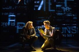 Mike Faist as Connor and Ben Platt as Evan