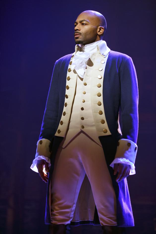Brandon Victor Dixon as Aaron Burr