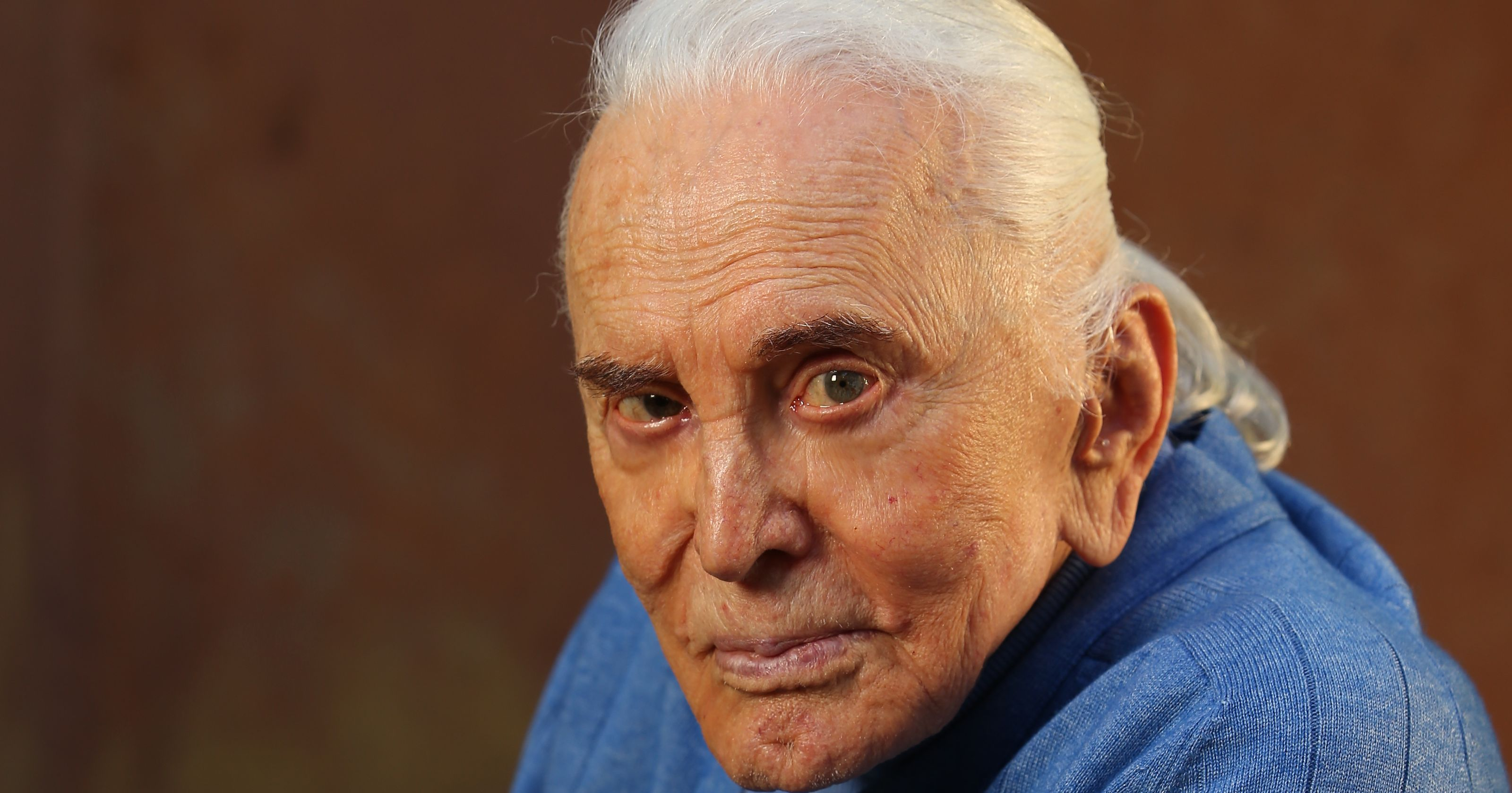 Kirk Douglas, 101, best-known as a movie star, of course, but a veteran of eight Broadway plays