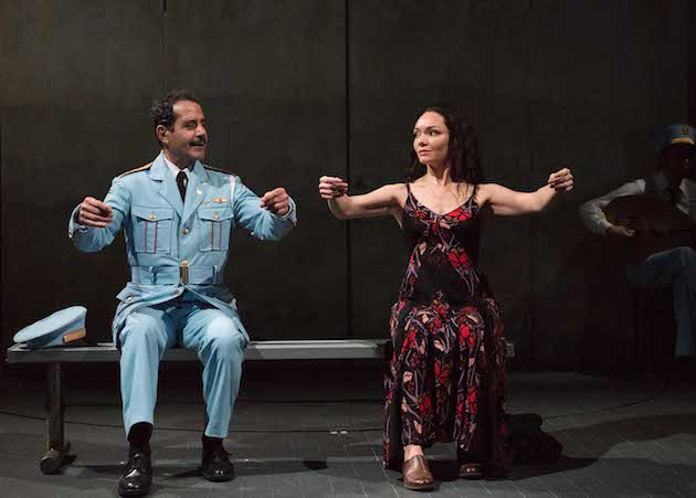 (l-r) Tony Shalhoub and Katrina Lenk