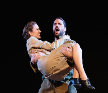 Laura Osnes and Will Swenson in The Blueprint Specials