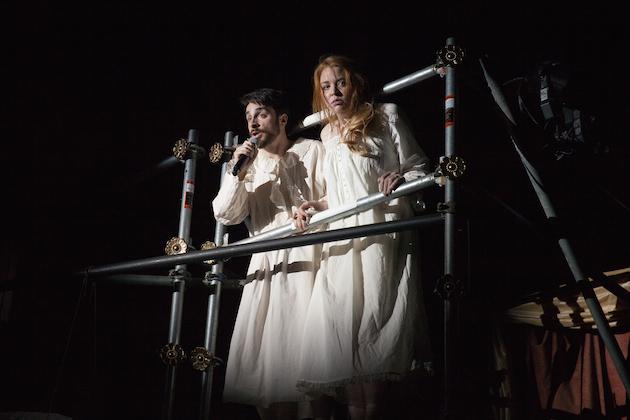 Willy Appelman and Alex Highsmith as Tsar and Tsarista