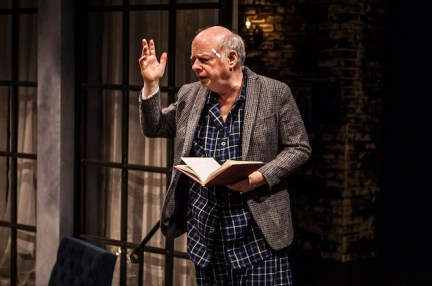 Wallace Shawn in his play Evening at the Talk House