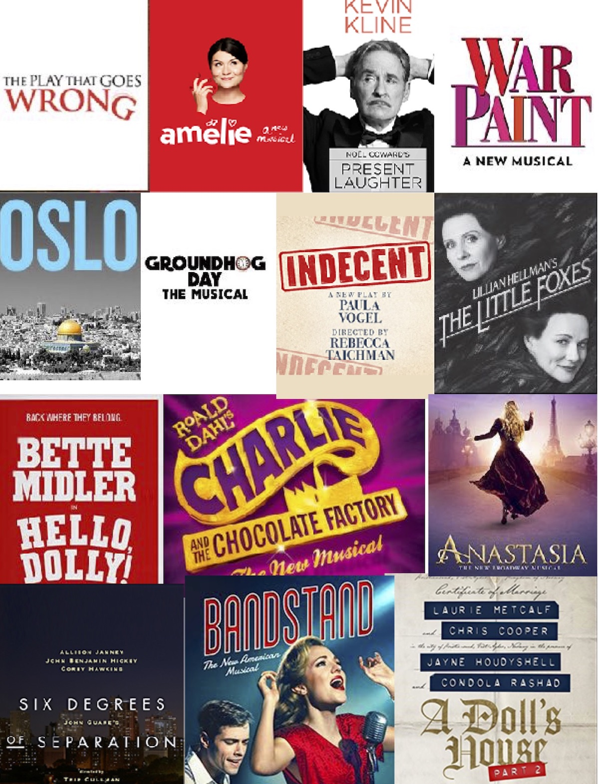 April 2017 Broadway logos