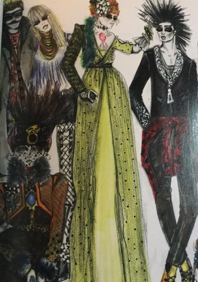Great Comet costume designs
