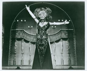 Carol Channing in Hello, Dolly, opened January 16, 1964. I