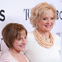 Patti Lupone and Christine Ebersole, War Paint, each nominated for Best Performance by an Actress in Leading Role in a Musical