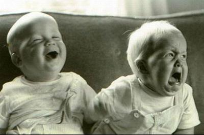 smiling and laughing babies
