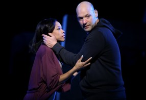 Nikki M. James as Portia and Corey Stoll as Brits