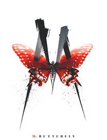 m butterfly logo