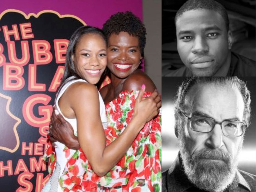 "Nikki James and LaChanze, Bubbly in 2000 and 2017, Okierete ""Oak"" Onaodowan, Mandy Patinkin"