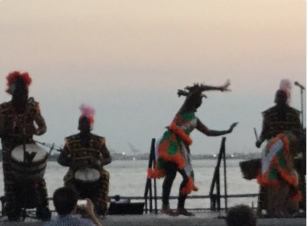 Kotchegna Dance Company from Cumbe Center for African and Diaspora Dance