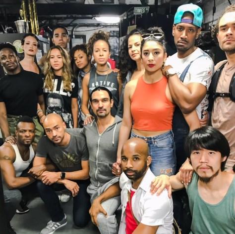 Hamilton diversity of Broadway