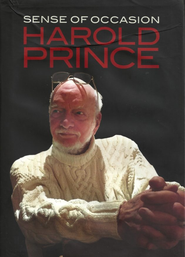 Harold Prince Sense of Occasion book cover